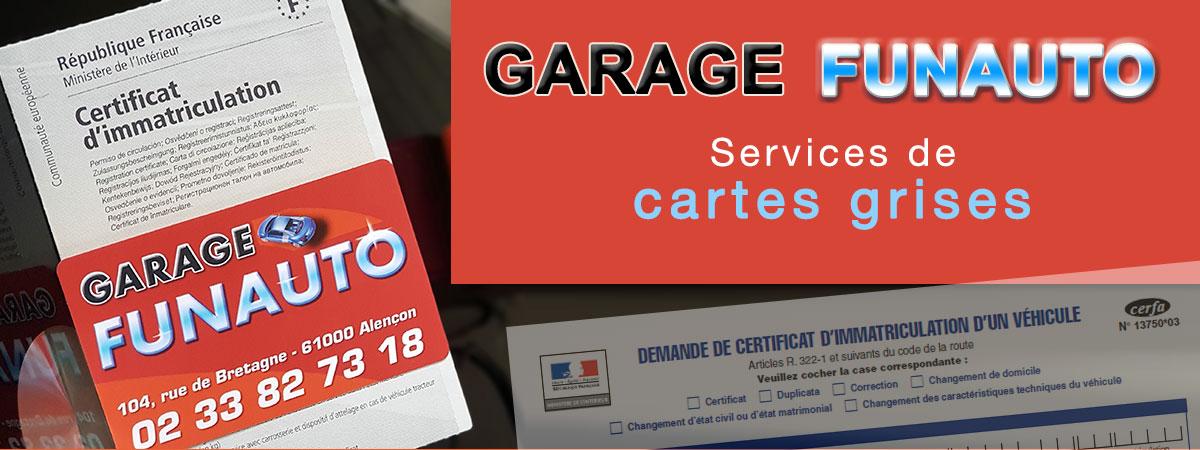 immatriculation-voiture-carte-grise-alençon-Garage-Funauto-Alençon-réparation-voiture-vente-voitures-occasion-alençon